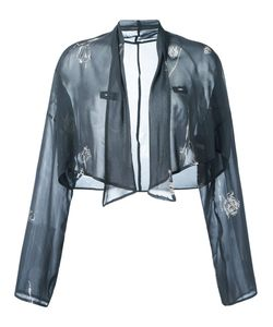Dolce & Gabbana | Vintage Print Cropped Jacket 42