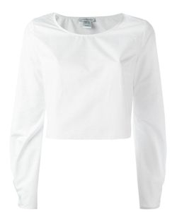 J.W. Anderson | J.W.Anderson Cropped Long Sleeved Top 8 Cotton