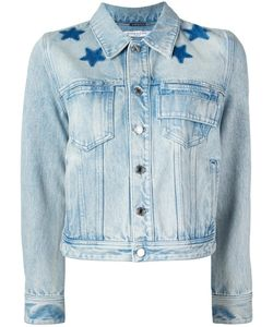 Givenchy | Star Print Bleached Jacket 36 Cotton