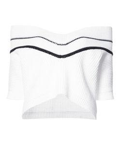 Carolina Herrera | Chunky Knit Off The Shoulder Jumper