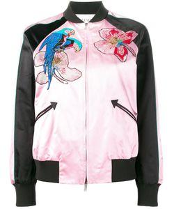 Valentino | Куртка-Бомбер С Тропическим Узором