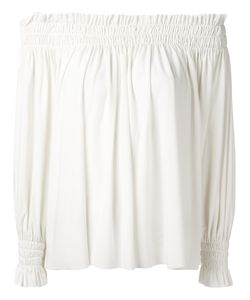 Norma Kamali   Off-The-Shoulder Blouse Xs