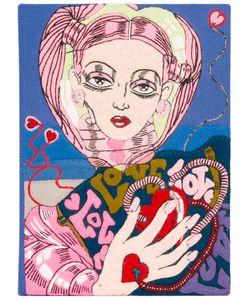Olympia Le-Tan | Клатч В Виде Книги Portrait Of Larissa