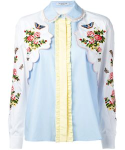 Vivetta | And Face Embroidered Shirt