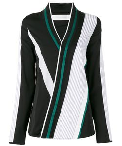 Victoria, Victoria Beckham | Striped Wrap Blouse