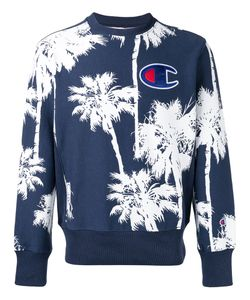 Champion | Palm Tree Logo Sweatshirt Size Small