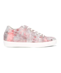 Leather Crown | Marbled Effect Sneakers Size 40
