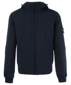 Stone Island | Kangaroo Pockets Zipped Hoodie Medium Polyester/Spandex/Elastane