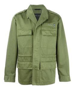 Marc Jacobs | Stud Detail Military Jacket 50 Cotton