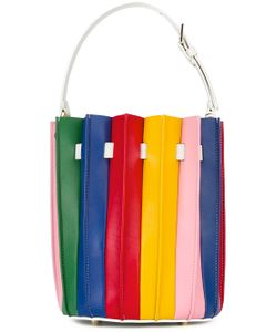 Sara Battaglia | Plissé Bucket Bag
