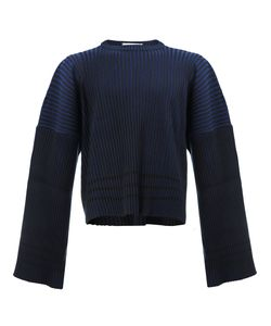 Y / PROJECT   Ribbed Flare Sleeve Jumper Size Small