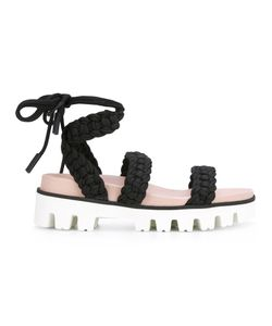 Red Valentino | Lace-Up Sandals 37