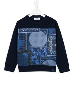 Young Versace | Baroque Print Sweatshirt 10 Yrs