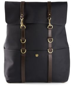 Mismo | Square Backpack Leather/Nylon