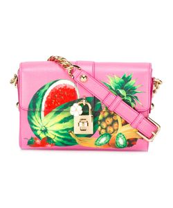 Dolce & Gabbana | Fruit Print Bag Leather