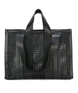 Corto Moltedo | Costanza Beach Club Tote Bag Calf Leather/Leather