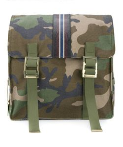 Valentino | Garavani Camouflage Backpack Cotton/Leather
