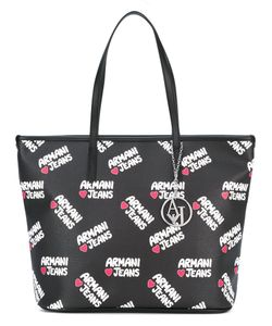 ARMANI JEANS | Logo Print Shopping Bag