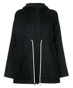 Bassike | Drawstring Hooded Jacket 8 Nylon/Cashmere/Virgin Wool