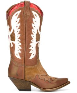 Buttero | Western Boots 40 Calf Leather/Leather