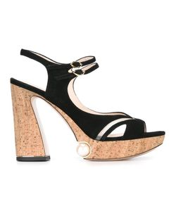 Nicholas Kirkwood | Estella Pearl Platform Sandals Size 38.5