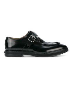 Alexander McQueen | Buckle And Zip Brogues 41.5 Leather/Rubber