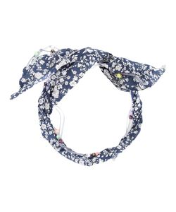 Maison Michel   Oversized Bow Headband