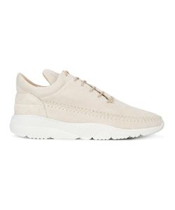 Filling Pieces | Lace-Up Sneakers 42 Suede/Leather/Rubber
