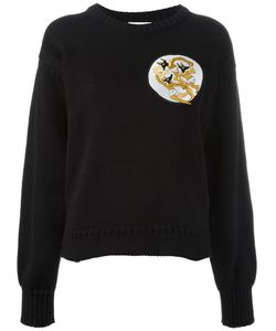 J.W. Anderson | J.W.Anderson Dancing Wolves Patch Sweatshirt Small Cotton