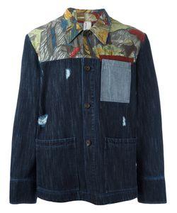 Antonio Marras | Printed Denim Jacket 54 Cotton