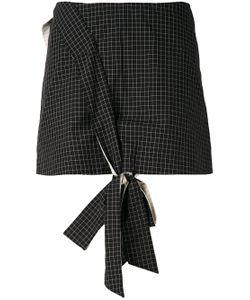 ANNA K | Front Knot Mini Skirt