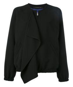 Barbara Bui | Front Flap Bomber Jacket 36 Polyester/Viscose