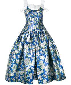 Delpozo   Ballon-Bottom Dress 36