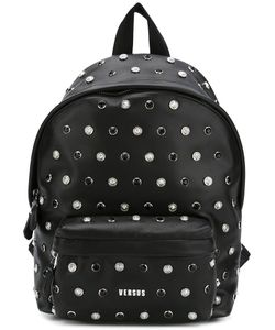 Versus | Lion Head Studded Backpack