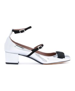 Tabitha Simmons   Металлизированные Туфли С Бантами