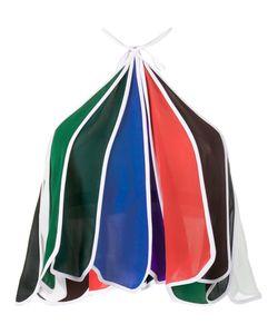 Rosie Assoulin   Rainbow Halter Neck Top