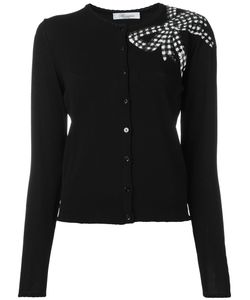 Blumarine | Sequin Bow Cardigan Size 50