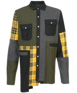 Mostly Heard Rarely Seen | Oversized Plaid Flannel Shirt Men