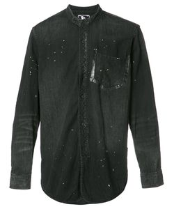 Prps   Mandarin Neck Shirt Medium Cotton