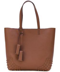 Tod'S | Embossed Detailing Shopping Bag