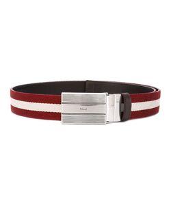 Bally   Striped Belt Size 95