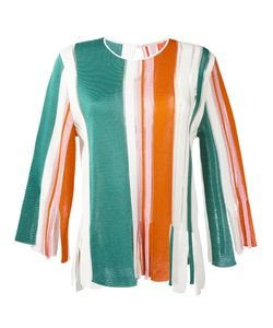 Marco De Vincenzo | Striped Blouse Size