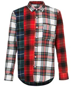Stussy | Mixed Tartan Button Down Shirt Men
