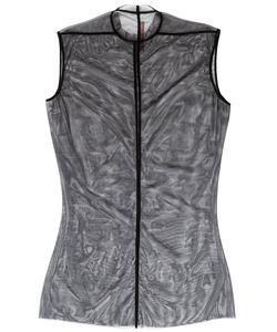 Rick Owens Lilies | Многослойное Платье С Сеткой