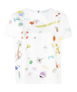 Mira Mikati | Cartoon Print T-Shirt