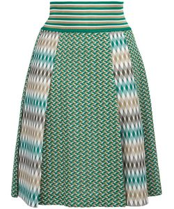 Missoni | Pleated Skirt 42 Cotton/Polyester/Viscose