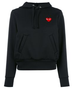 Comme des Gar ons Play | Comme Des Garçons Play Heart Patch Hoodie Small