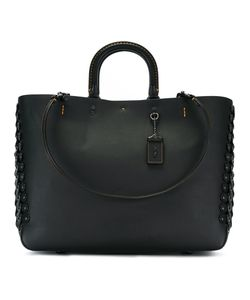 COACH | Interlaced Eyelets Tote Leather