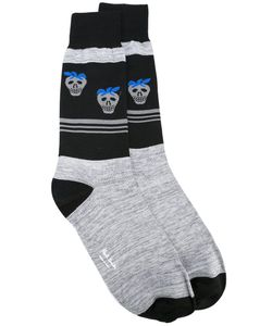 Paul Smith Red Ear | Strawberry Skull Socks Cotton/Polyamide