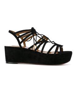 Aquazzura   Strappy Platform Sandals Size 37